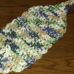 Back Scrubber - Free Crochet Pattern