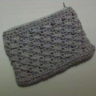 Cross-Over Long DC Pouch ~ FREE Crochet Pattern
