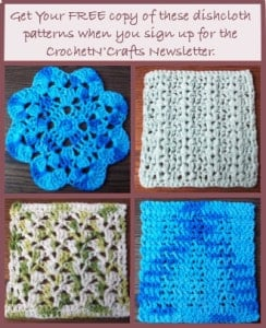 FREE Dishcloth Crochet Patterns