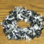 Crochet Bernat Hair Scrunchies