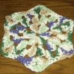 Crochet Face Cloth