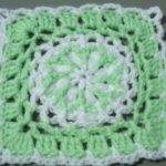 Flat Braid Crochet Join – Part 1 – Crocheting Around the First Square | Crochet Tutorial