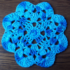 Flower Dishcloth - FREE Pattern