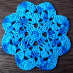 Flower Dishcloth - FREE Pattern
