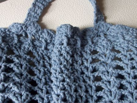 Attach Handles Above Shell Stitch As Pictured