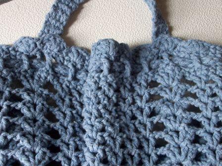 Laundry Bag ~ FREE Crochet Pattern