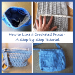 How to Line a Crocheted Purse or Bag