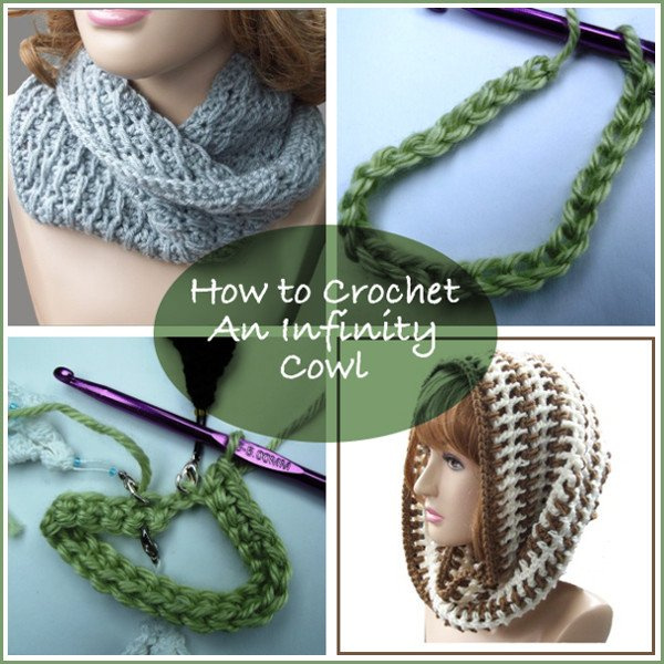 How to Crochet an Infinity Cowl
