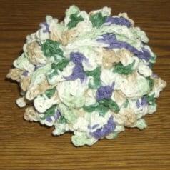 Crochet Bath Scrubbie