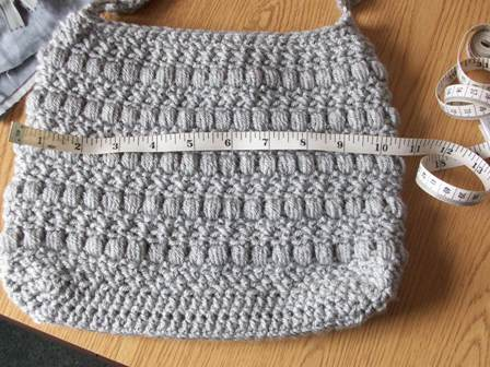 Lining a Crochet Purse ~ Sewing Tutorial