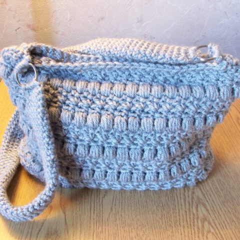 Lining a Crochet Bag