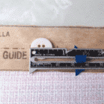 How To Measure and Mark Buttonholes