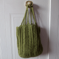 Oval Tote Crochet Pattern