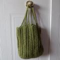 Oval Tote Crochet Pattern