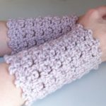 Picot Armwarmers on Cre8tion Crochet