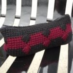 Puffy Spike Stitch Case