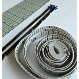 A few measuring tools to help you measure accurately for sewing.