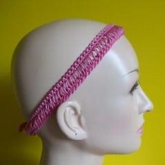 Simple Broomstick Lace Headband