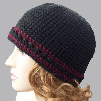 Single Crochet Beanie Free Crochet Pattern