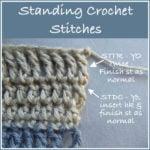 Standing Crochet Stitches