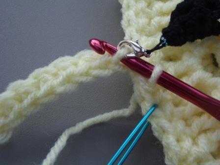 Single Crochet In Back Loops