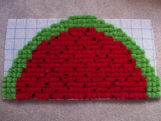 watermelonpompomrug5