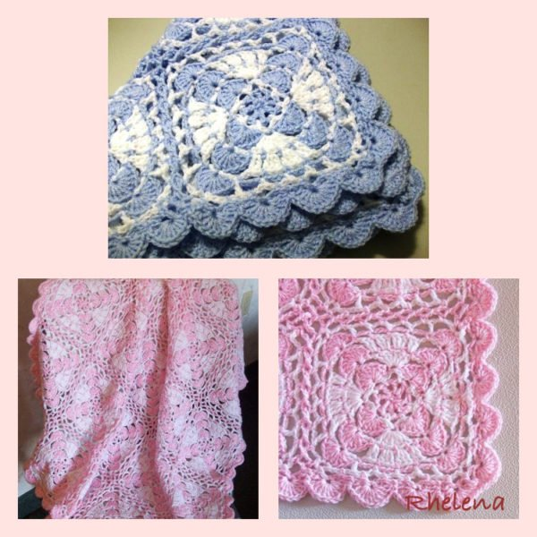 X-tra Sport Crochet Motif Baby Blanket