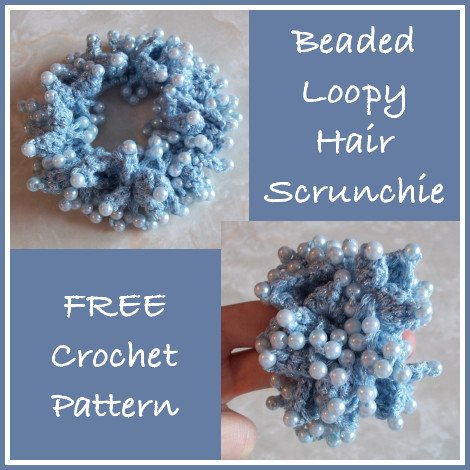 How to Crochet a Hair Scrunchie: 15 Steps - wikiHow