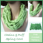 Chains and Puffs Spring Cowl