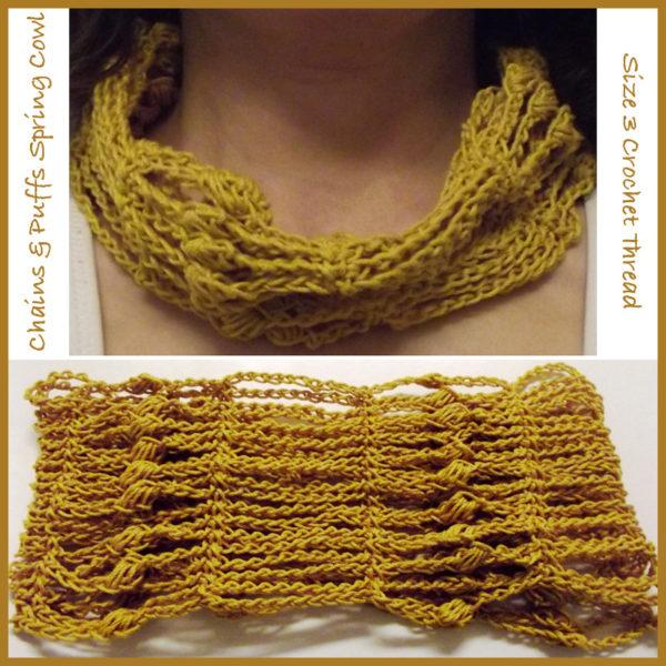 Crocheted in Size 3 Crochet Thread