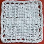 Corner Mesh Dishcloth