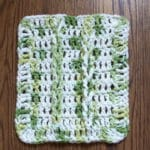 Jacob's Ladder Dish Cloth