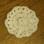 Crochet Thread Coaster – FREE Crochet Pattern