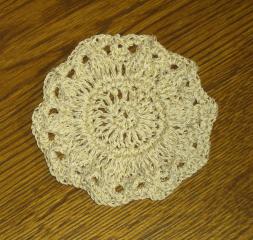 Crochet Thread Coaster