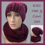 ESC Hat and Cowl Set