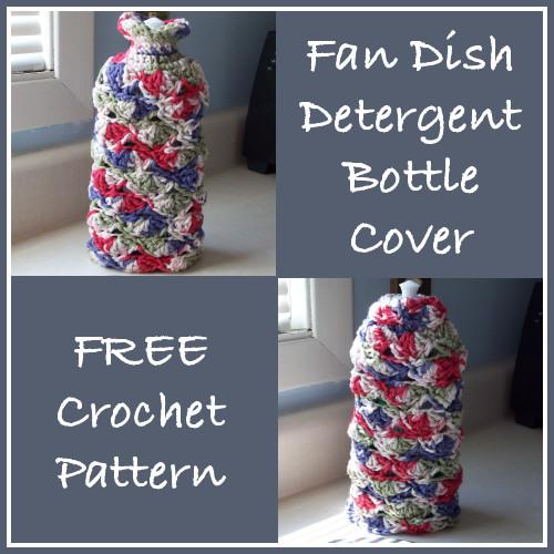 Fan Dish Detergent Bottle Cover