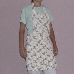 Fan Stitch Apron
