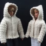 Hooded Jacket for 11.5″ Fashion Doll