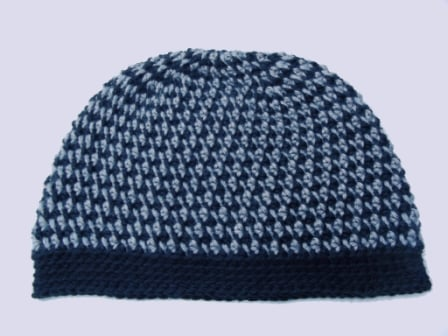 In a Spiral Hat - Laying Flat