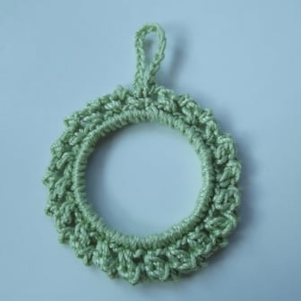Lacy Picot Ornament