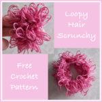 Loopy Hair Scrunchie