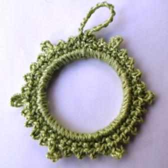 Picot Ornament