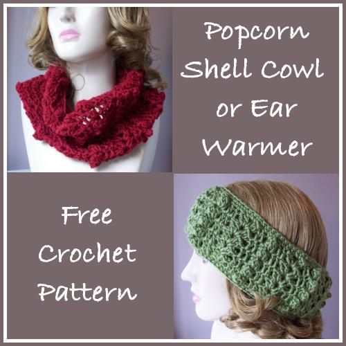 Popcorn Shell Cowl/Ear Warmer