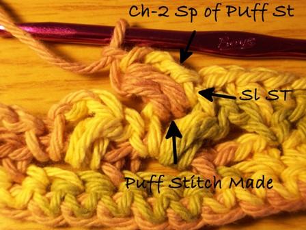 Puff Stitch Made