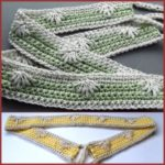 Puffy Spike Stitch Belt