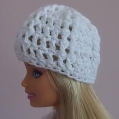 Ribbed Fashion Doll Hat ~ FREE Crochet Pattern