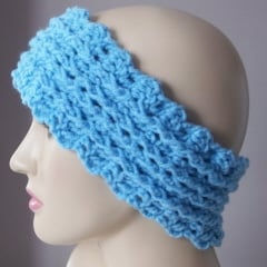 Ribbed Ear Warmer by CrochetN'Crafts