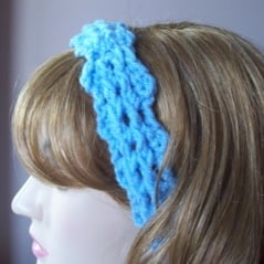 Free Crochet Ribbed Headband Patterns : Ribbed Headband ~ FREE Crochet Pattern