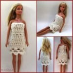 Scalloped Fashion Doll Dress