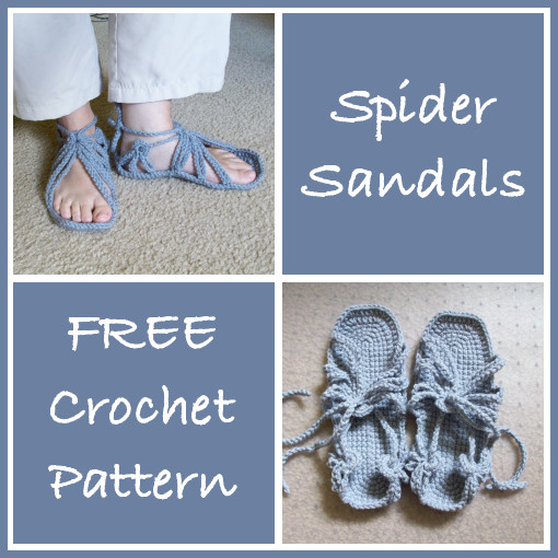 Spider Sandals